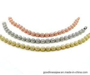 Fashion Jewelry Bling Bracelet AAA Cubic Zirconia Bracelet Wholesale (BT6538) pictures & photos