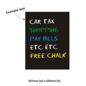 Customized Calendar Decal with PVC Chalk Marker Week Blackboard Chalk Sticker pictures & photos