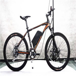 Fashionable Mountain Bike Electric with 24 Speed Derailleur pictures & photos