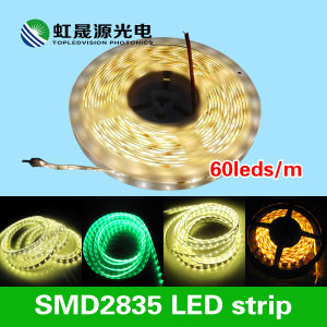 Flexible SMD2835 LED Strip 60LEDs/M in Constant Current 12V/24VDC pictures & photos