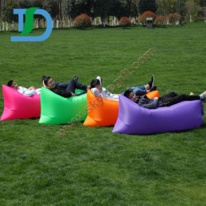 China Wholesale Best Quality Hangout Inflatable Air Sofa pictures & photos