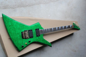 Hanhai Music/Unusual Shape Green Electric Guitar (KE2 Kelly USA) pictures & photos