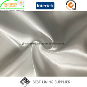 100 Polyester Silky and Shiny Twist Satin Lining Fabric pictures & photos