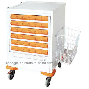 Sjt095 Luxurious Medicine Dispensing Cart pictures & photos