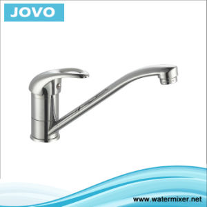 Zinc Body Single Hanlde Kitchen Mixer&Faucet Jv73307 pictures & photos