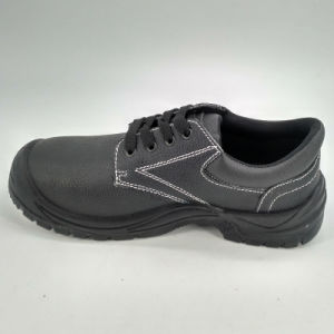 Steel Toe Cap Men Leather Safety Shoes Ufe025 pictures & photos