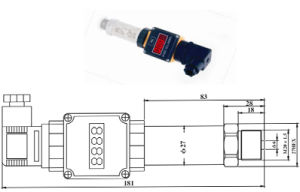 Absolute Pressure Differential Sensor Indicator Transmitter (HTW-CQ04531-IX) pictures & photos