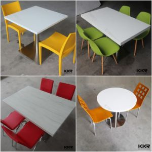 Kkr Artificial Stone Restaurant Dining Table and Chair pictures & photos