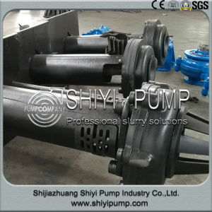 Shaft Centrifugal Rubber Lined Sump Pit Slurry Pump Sp Type pictures & photos