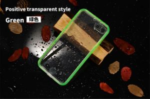 New Ultra Thin Colored Transparent Waterproof Protection Cover for iPhone pictures & photos