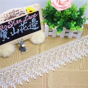 Factory Stock Wholesale 9cm Width Embroidery Nylon Lace Polyester Embroidery Trimming Fancy Lace for Garments Accessory & Home Textiles & Curtains (BS1208) pictures & photos