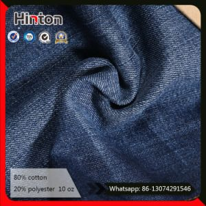 Factory Hot Sale 10oz Slub Jeans Fabric Dark Blue Pants Jean Fabric pictures & photos
