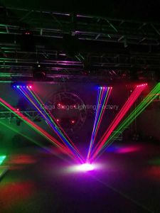 6heads Fat Beam Cool Disco RGB Laser Array pictures & photos