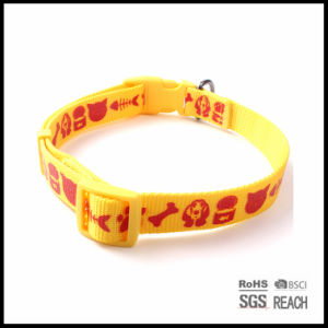 Cheap Silk Screen Imprinted Nylon Pet Dog Puppy Collar Xxs pictures & photos