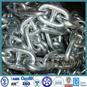 Black Painted Stud Link Anchor Chain pictures & photos