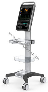 2017 Newest Full Touch Screen Trolley Color Doppler Ultrasound Scanner pictures & photos