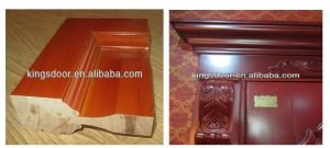 Interior Wood Door Solid Core for International Hotel pictures & photos