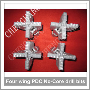 Best Selling Four Wings Drag PDC Drill Bits for Soft Rock Drilling pictures & photos