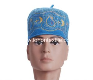 Wool Hat for Man and Woman Embrodiery Muslim Festival Hat pictures & photos