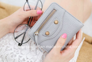 Women Purse Genuine Leather Wallets with Card Holder High Quality Leather Purse for Smartphone Female Clutch Wallet pictures & photos