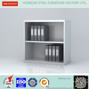 Steel Low Storage Cabinet with Open Shelf Cabinet Adjustable Shelf pictures & photos