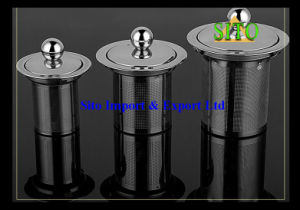 Stainless Steel Perforated 304/316 Mesh Tea Filter