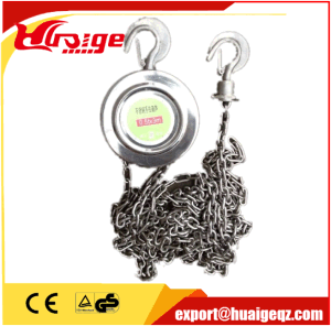 Hand Chain Stainless Steel Manual Chain Pulley Block pictures & photos
