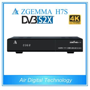 Zgemma H7s Twin DVB S2X/S2 + DVB T2/C Newest 4k Ultra HD Satellite TV Box pictures & photos