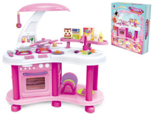 Kids Toy Kitchen Set Cooking Set for Girl (H8251020) pictures & photos