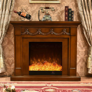 MDF Furniture LED Lights Heater Electric Fireplace with Ce (340) pictures & photos