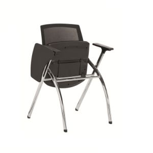 2017 Meeting Room Office Folding Training Chair with Writing Pad pictures & photos