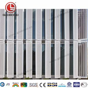 Globond Perforated Aluminum Panel for Exterior Decoration pictures & photos