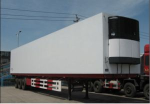 Refrigerated Van Semi-Trailer/Refrigerated Container Trailer pictures & photos