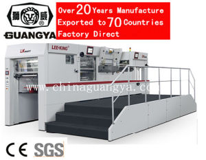 High Speed Automatic Foil Stamping and Die Cutting Machine with Stripping (LK106MTF) pictures & photos