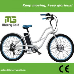 36V En15194 Approved Electric Beach Cruiser Bike for Ladies pictures & photos