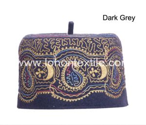 100% Wool Felt India Islam Skull Cap with Embroidery pictures & photos