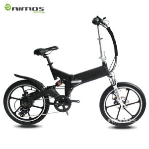 20 Inch 500W 48V Folding Fat Tire Tyre Electric Bikes pictures & photos