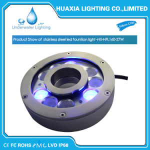 Factory Directly Sale 27W RGB LED Underwater Fountain Light pictures & photos