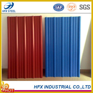 Different Gauge Color Coated Galvanized Steel Sheet for Building pictures & photos