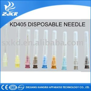 Medical Disposable Hypodermic Injection Needle, From 16g to 30g pictures & photos