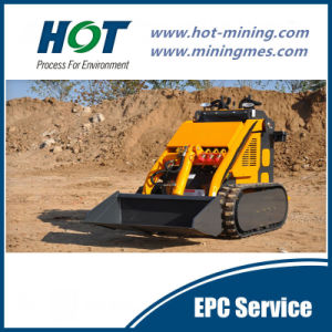 Loading Equipment Mini Skid Steer Loader Alh280 pictures & photos