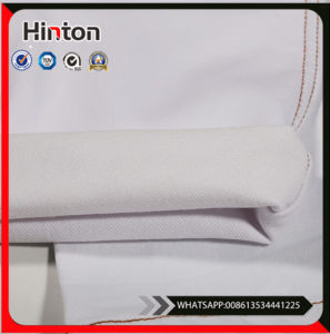 White Thick Cotton Denim Fabric for Jeans Pants pictures & photos