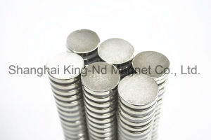 Disc Neodymium Magnet (N35) pictures & photos