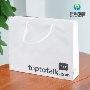 Concise Style Designed Printing Garment Shopping Gift Bag pictures & photos