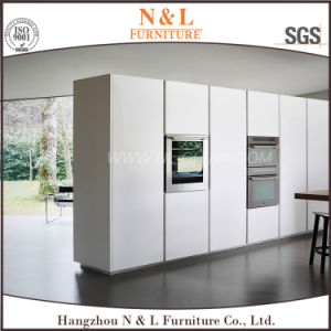 Modern Home Furniture White High Gloss Lacquer Wood Kitchen Cabinets pictures & photos