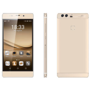 Mtk6580A Quad Core 5.5 Inch HD Screen 3G Mobile Phone with 1g RAM and 8g ROM Memory Cell Phone with Fingerprint Function (P9 plus) pictures & photos