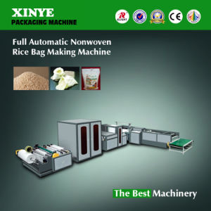 Full Automatic Nonwoven Rice Bag Making Machine Xyqf-1200X800 pictures & photos