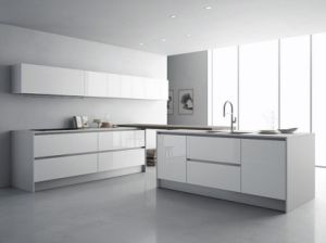 Grandshine High Modular Gloss Lacquer Kitchen Cupboards pictures & photos