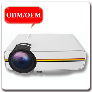 2017 Top Sale Portable LCD Multimedia HD Home Movie LED 3D Projector pictures & photos