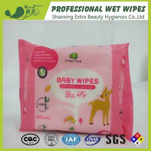 Antispetic 100% Bamboo Fiber Baby Wipes OEM Wet Tissues pictures & photos